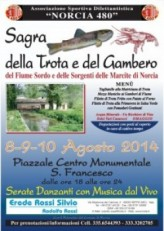 """Norcia Estate"", week-end tra musica, folklore, gastronomia e spettacolo"